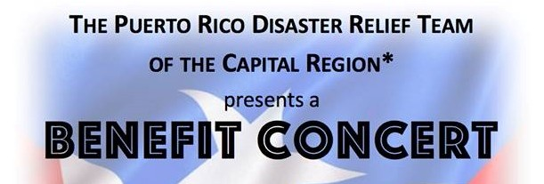 The Puerto Rico Disaster Relief Team of the Capital Region Benefit Concert